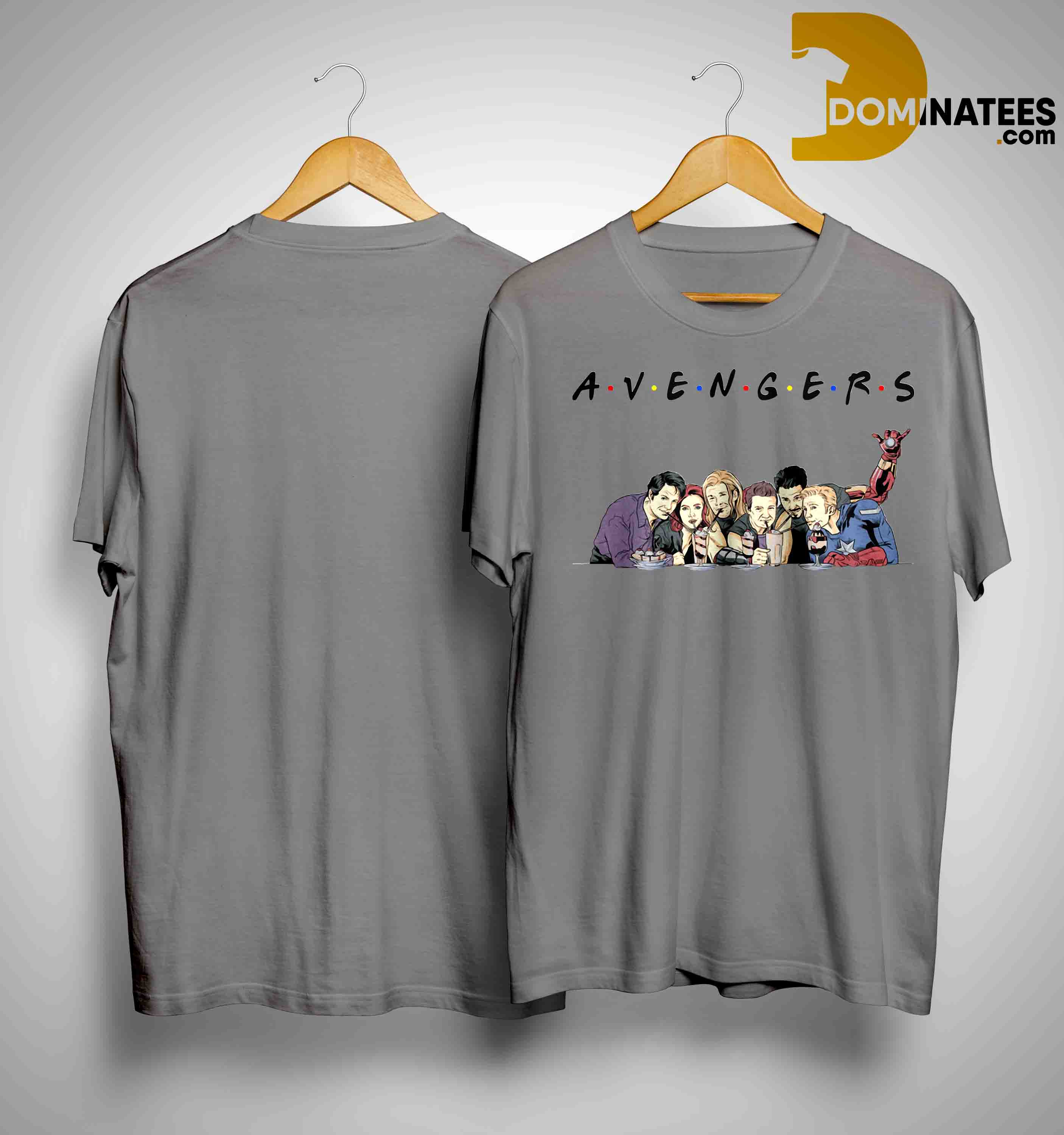 41319fa63 TV Shows parody avengers friends shirt, Tank Top, Hoodie And Sweater