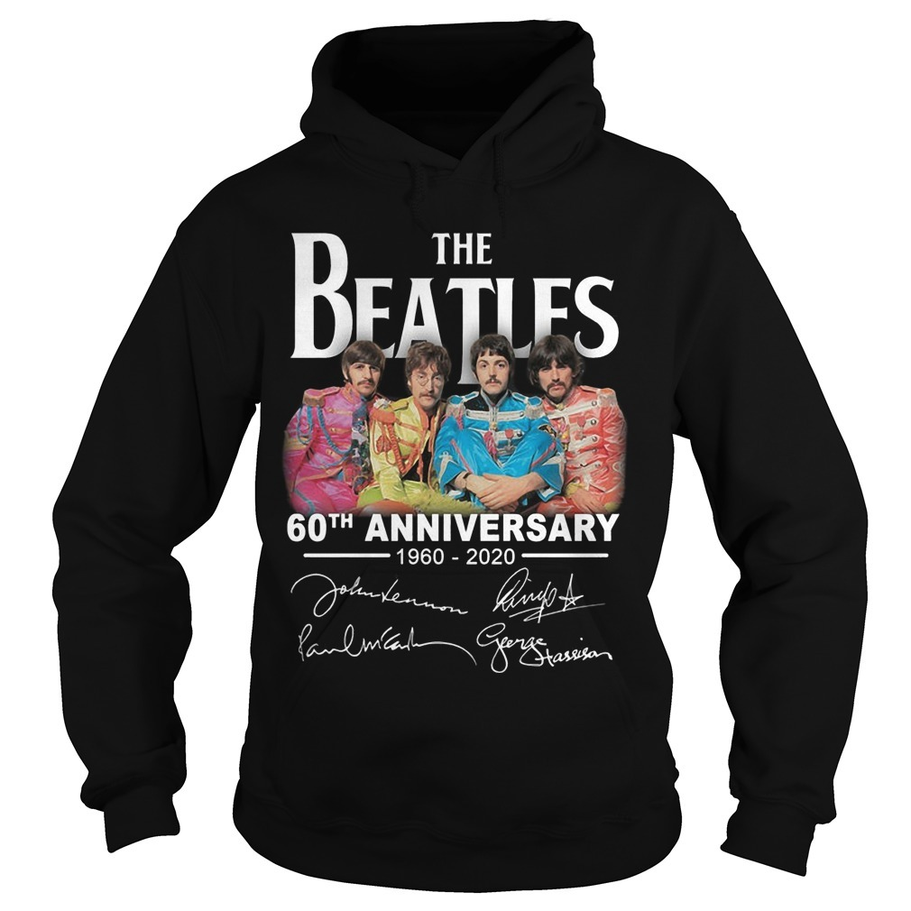 The Beatles 60th Anniversary 1960 2020 Hoodie