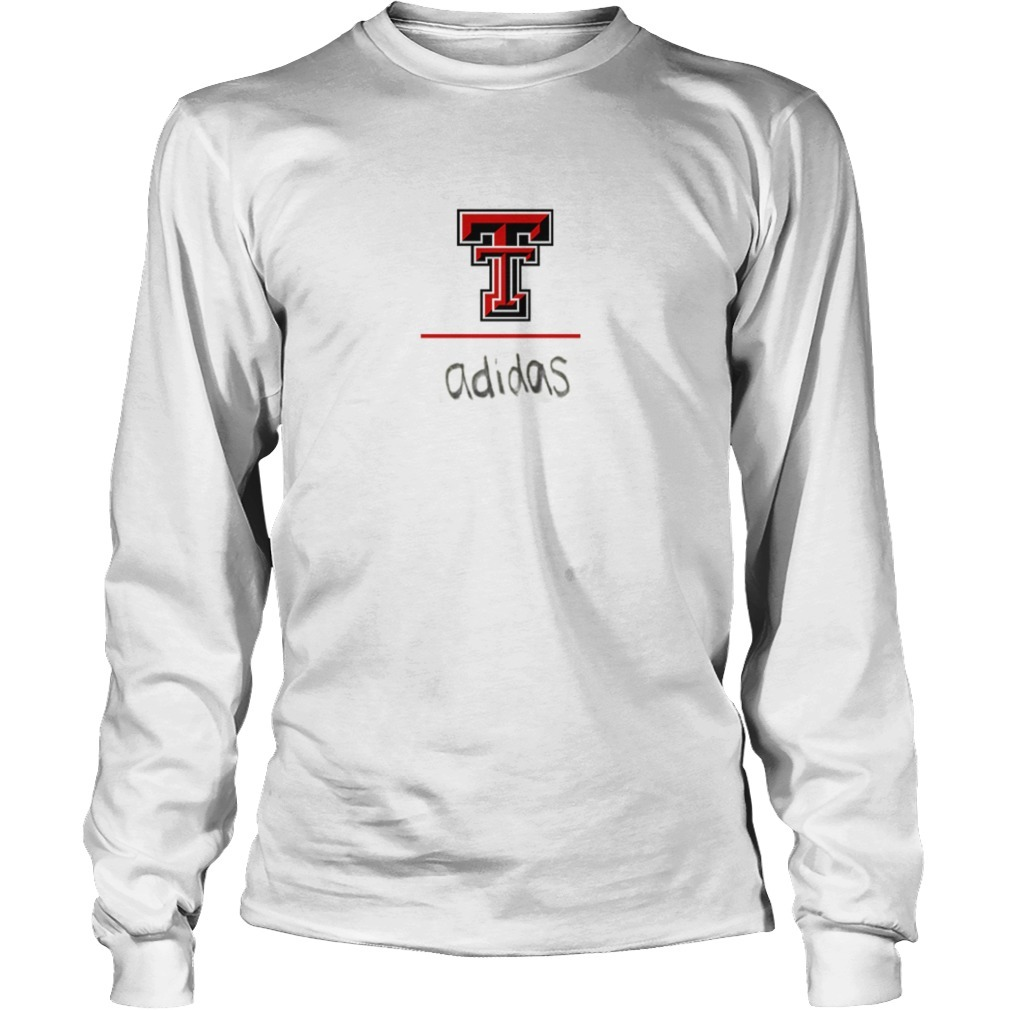 Travis Kelce Texas Tech Red Raider Adidas Long Sleeve Tee