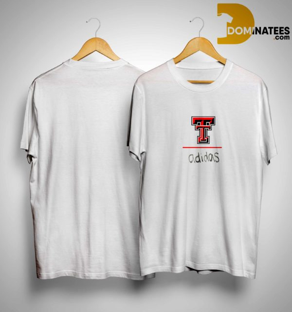 Travis Kelce Texas Tech Red Raider Adidas Shirt