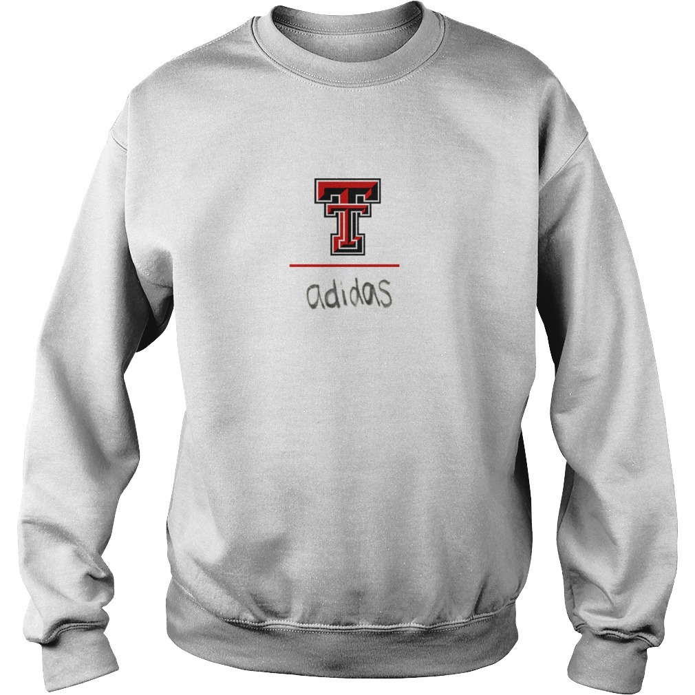 Travis Kelce Texas Tech Red Raider Adidas Sweater