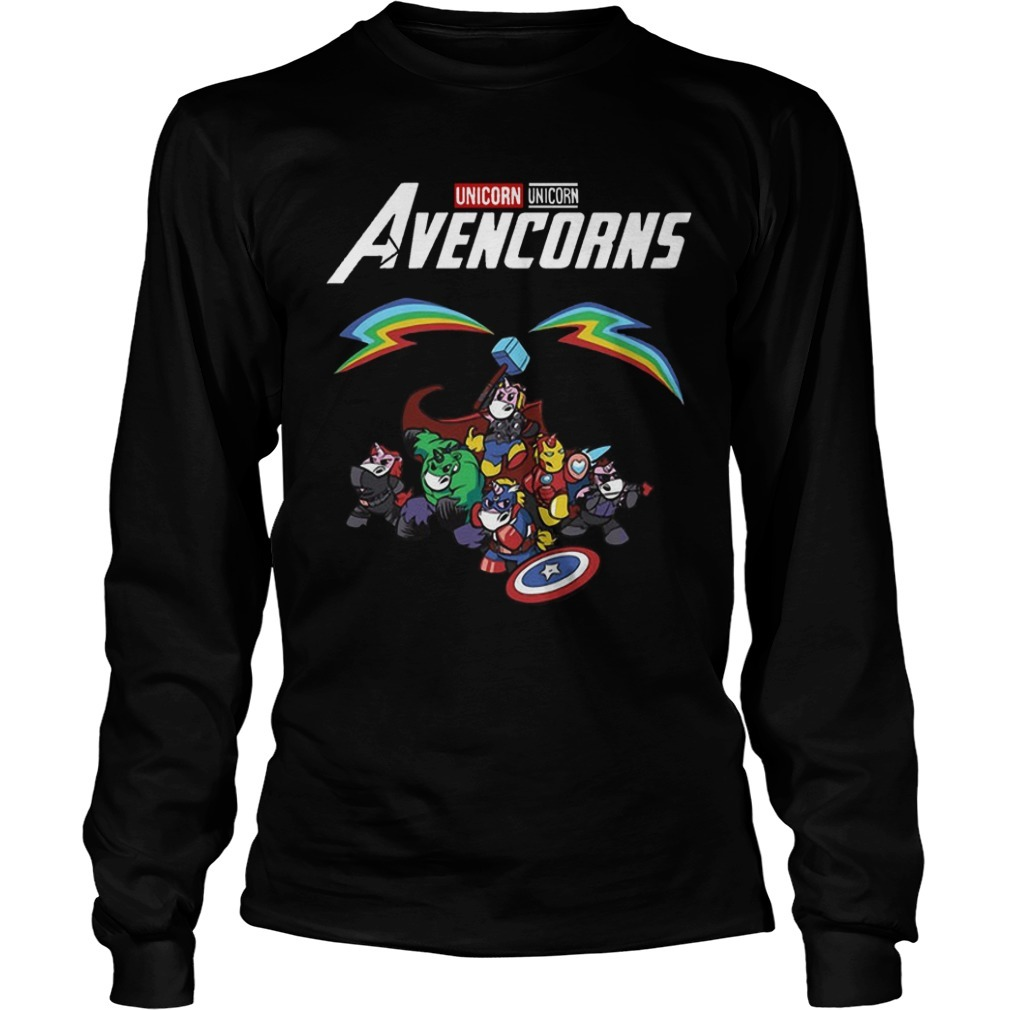 Unicorn Avencorns Long Sleeve Tee