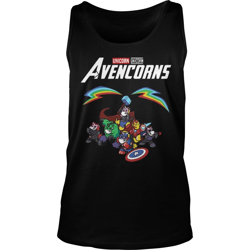 Unicorn Avencorns Tank Top