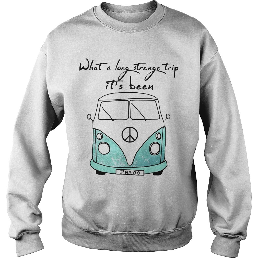 What A Long Strange Trip It's Been Peace Sweater