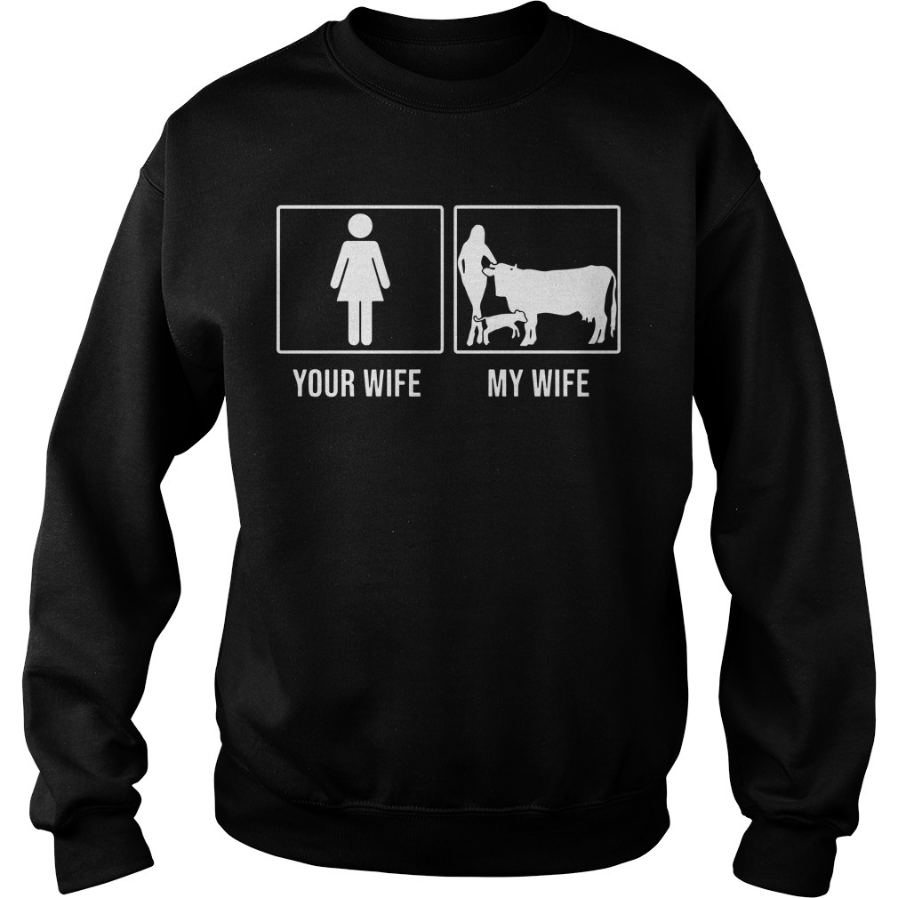 Your Wife My Wife Cow Sweater