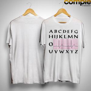 Abcdefghijklmn O Uvwxyz Heart Beat Shirt