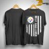 American Flag Steeler Pittsburgh Best Dad Ever Shirt