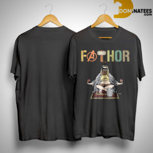 Avengers Fat Thor Fathor Shirt
