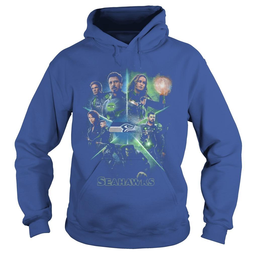 Avengers Team Seahawks Hoodie