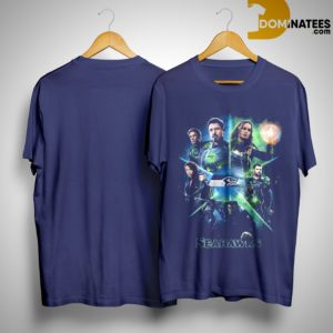 Avengers Team Seahawks Shirt