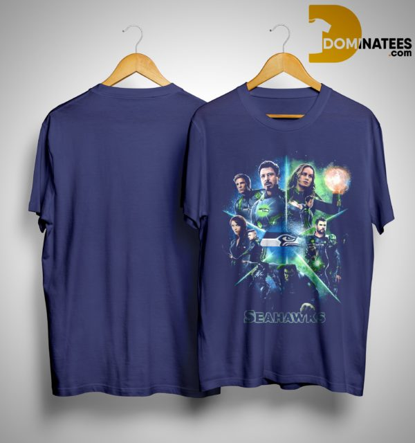 Avengers Team Seahawks Shirt