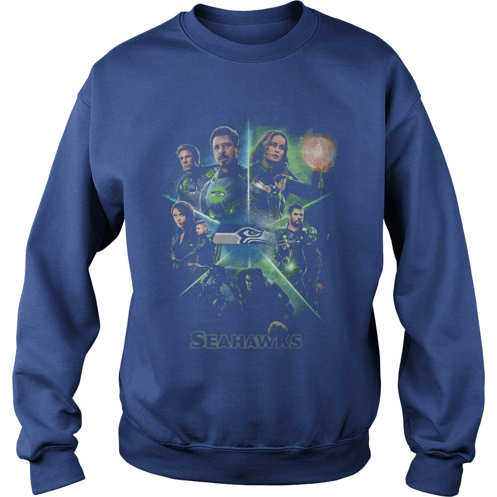Avengers Team Seahawks Sweater