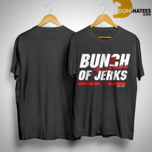Carolina Hurricanes Bunch Of Jerks Front Running Shirt