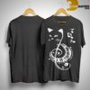 Cat Treble Clef Love Music ShirtCat Treble Clef Love Music Shirt
