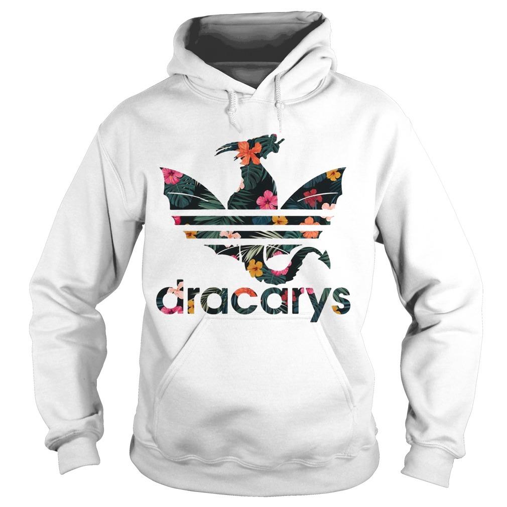 Floral Game Of Thrones Adidas Dracarys Hoodie
