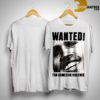 Frank Ocean Chris Brown Wanted For Domestic Violence Shirt