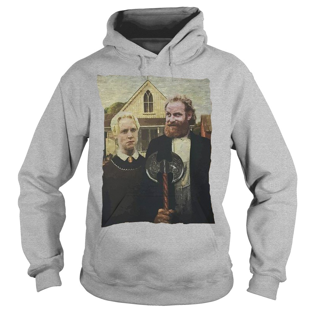 Game Of Thrones Tormund Giantsbane Brienne Of Tarth Hoodie