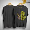 Hippie Weed I'm Blunt Because God Rolled Me That Way Shirt