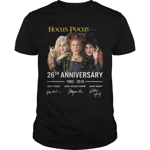 Hocus Pocus 26th Anniversary 1993 2019 Shirt