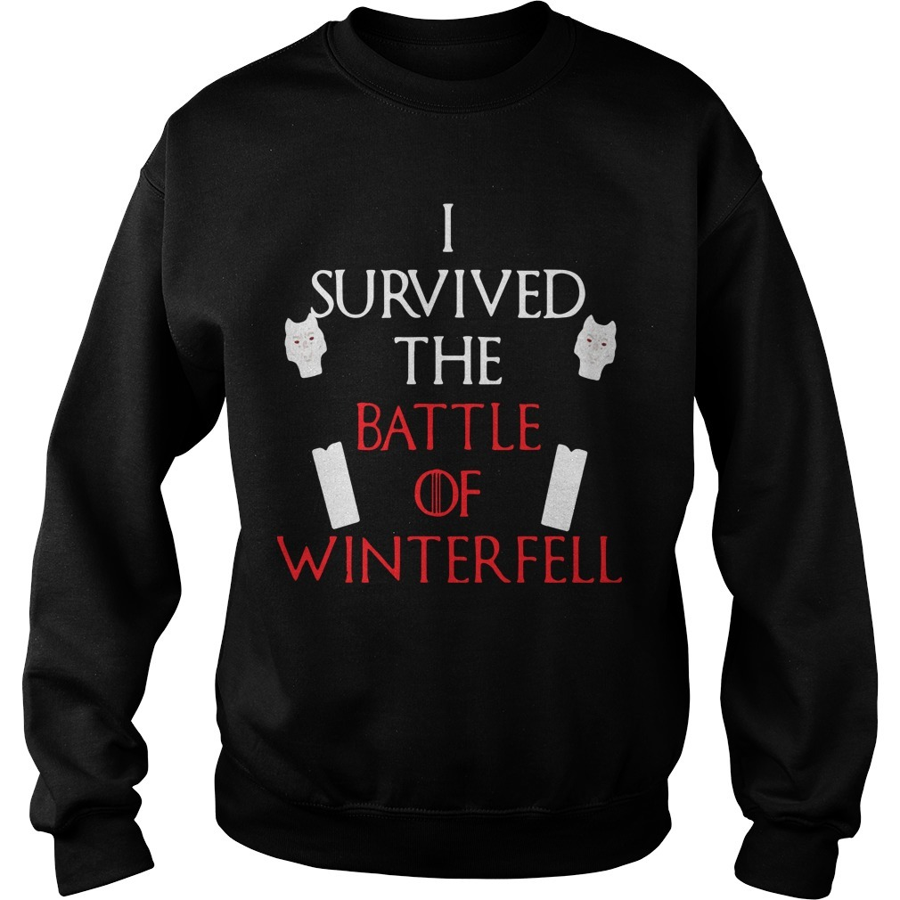 I Survived The Battle Of Winterfell Game Of Thrones Sweater