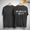 Jack Skellington My Wife Is Hot Psychotic Shirt