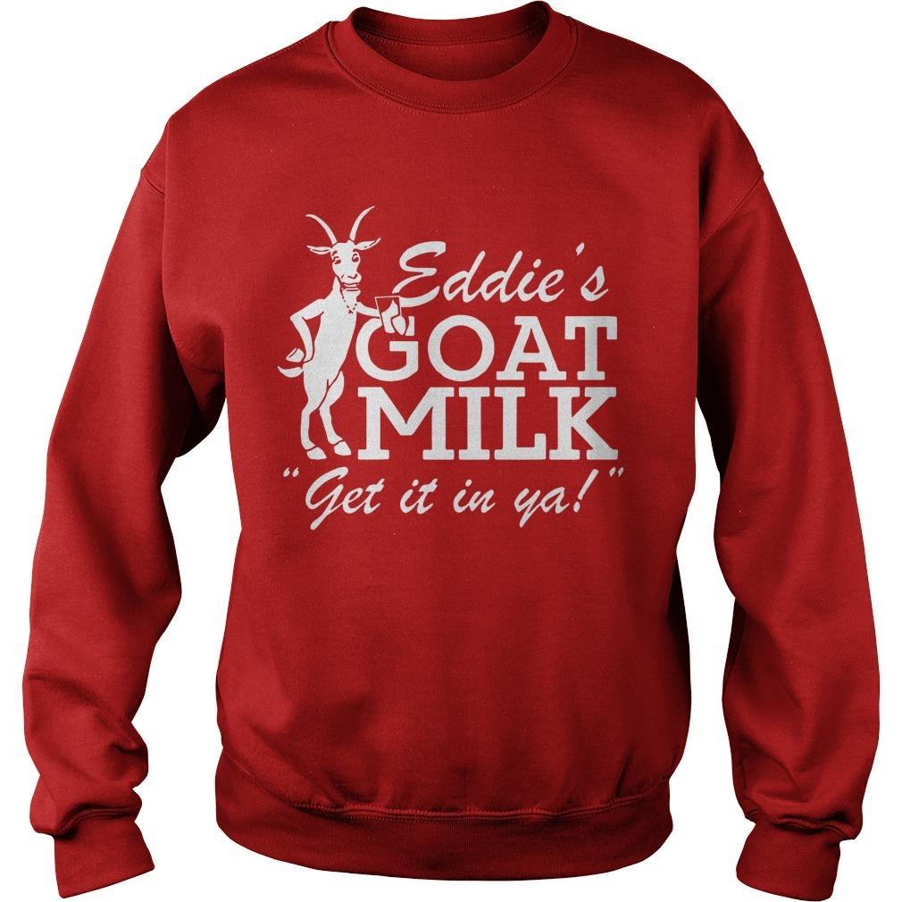 Jared Carrabis Eddie's Goat Milk Get It In Ya Sweater