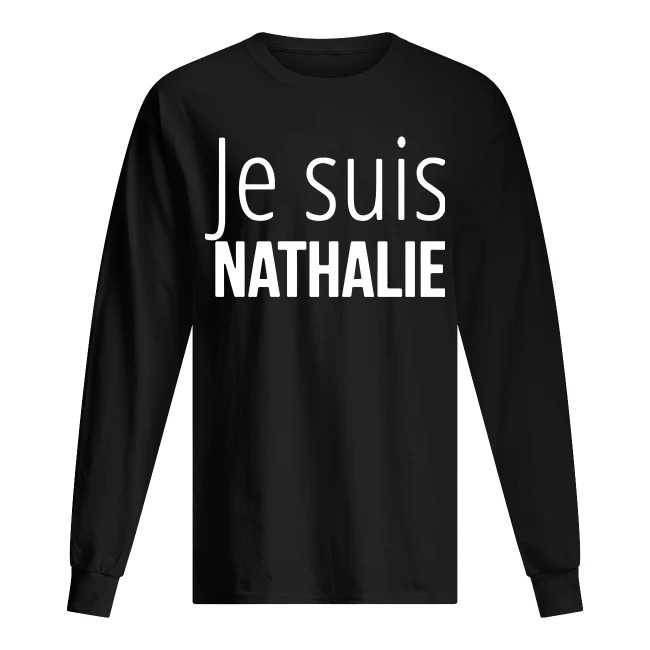Je Suis Elodie Long Sleeve Tee
