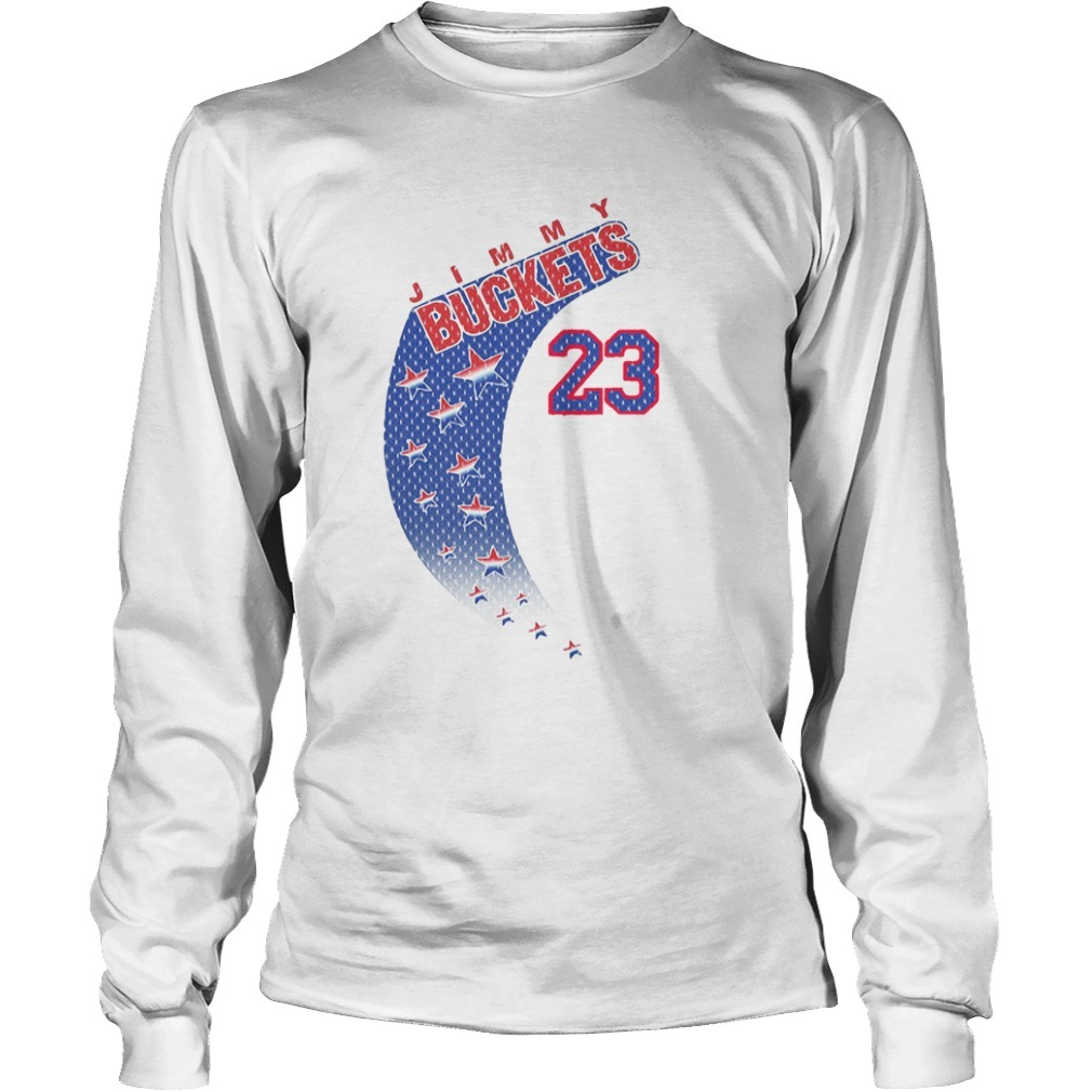 Jimmy Buckets Retro Long Sleeve Tee