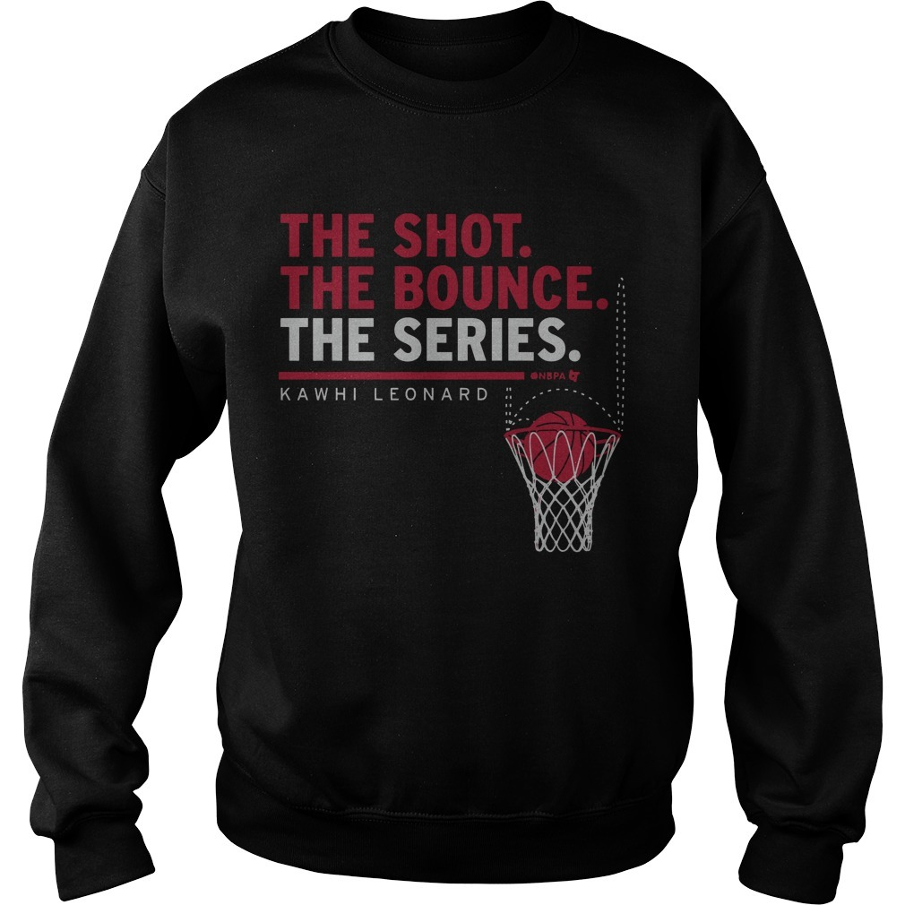 Kawhi Leonard The Shot The Bounce The Series Sweater