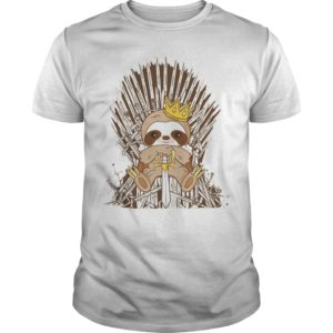 King Sloth On Iron Thrones Shirt