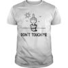 Middle Finger Cactus Don't Touch Me Shirt