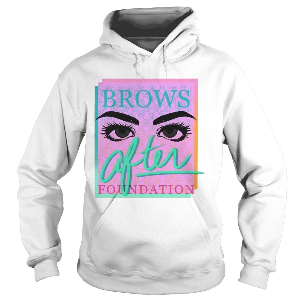 Miles Jai Brows After Foundation Hoodie