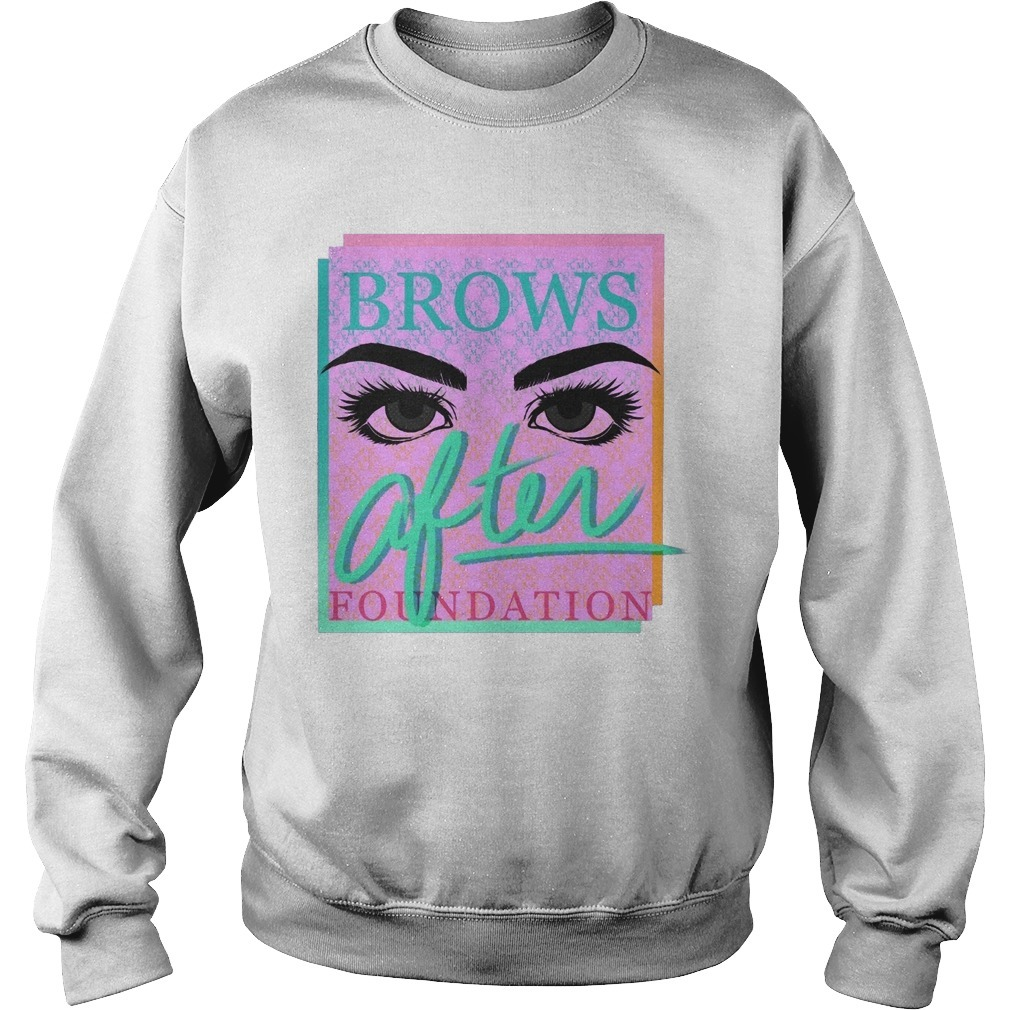 Miles Jai Brows After Foundation Sweater