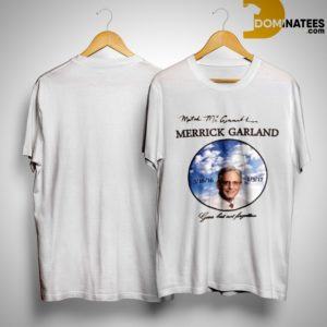 Mitch Mcconnell Merrick Garland's Death Gone But Not Forgotten Shirt