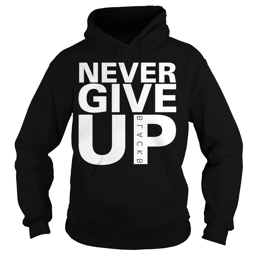 Mohamed Salah Never Give Up Hoodie