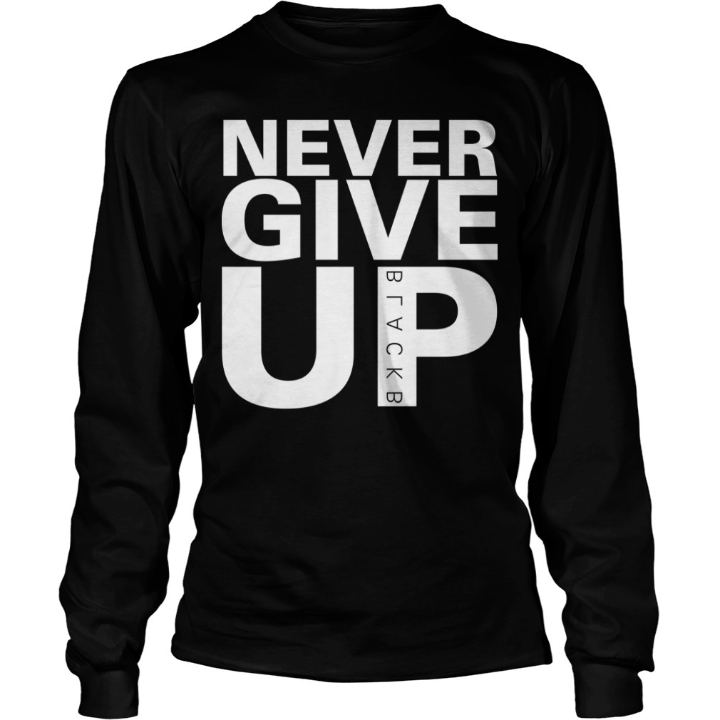 Mohamed Salah Never Give Up Long Sleeve Tee