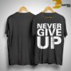 Never Give Up T Shirt Salah
