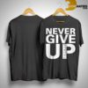 Salah Never Give Up Liverpool T Shirt