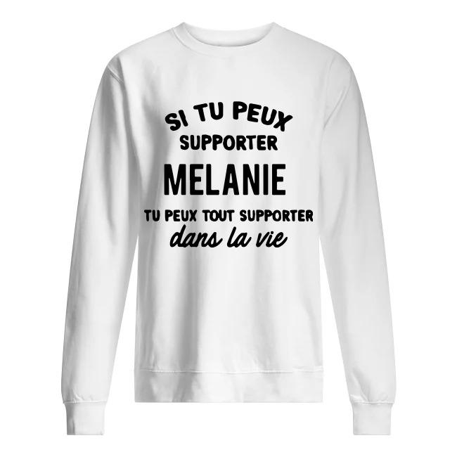 Si Tu Peux Supporter Elodie Tu Peux Tout Supporter Dans La Vie Sweater