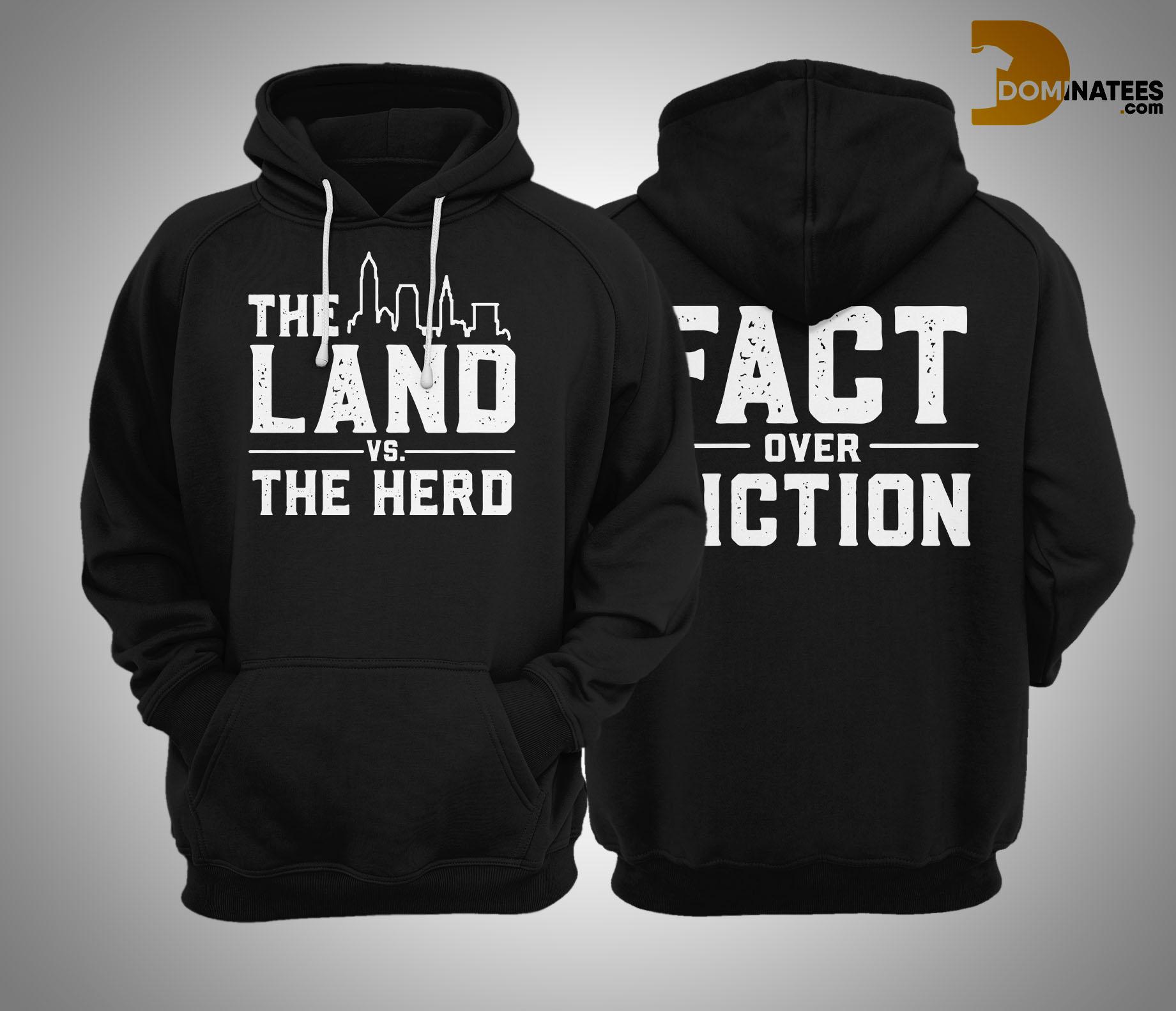 The Land Vs The Herd Hoodie