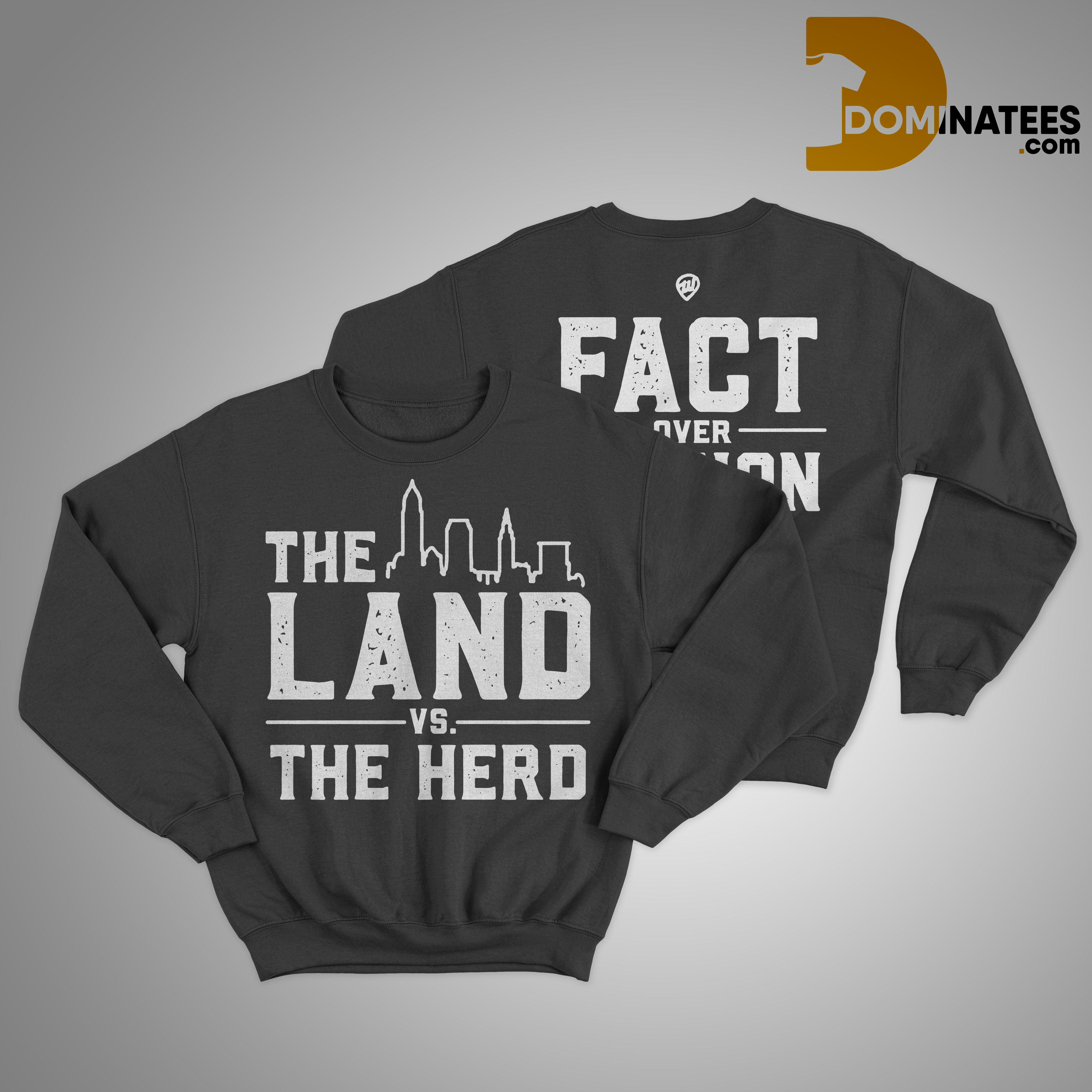 The Land Vs The Herd Sweater