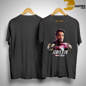 Tony Stark Iron Man I Love You Three Thousand Shirt