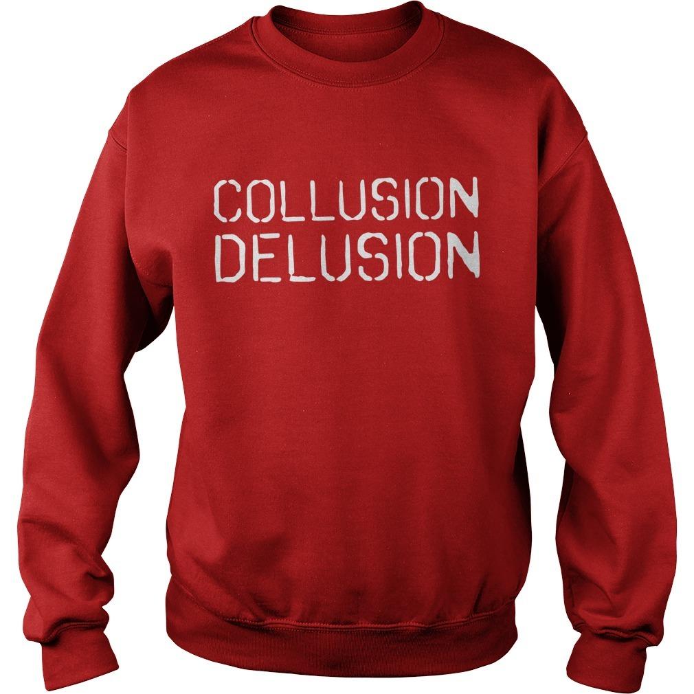 Trump Collusion Delusion Sweater