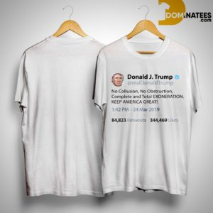 Trump Tweet No Collusion Shirt