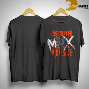 Unscripted Violence Jon Moxley Shirt