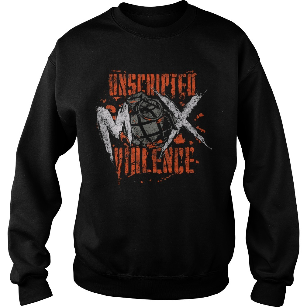Unscripted Violence Jon Moxley Sweater
