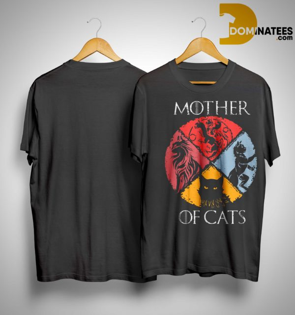 Vintage GOT Mother Of Cats Shirt