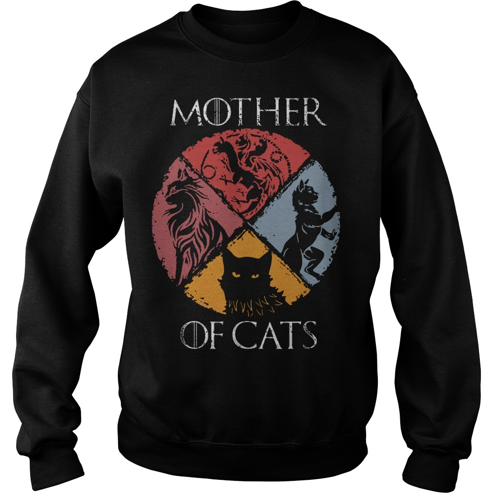 Vintage GOT Mother Of Cats Sweater