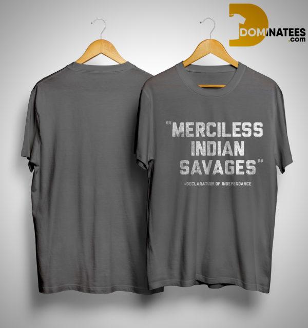 Washington Tribal Teen Merciless Indian Savage Shirt