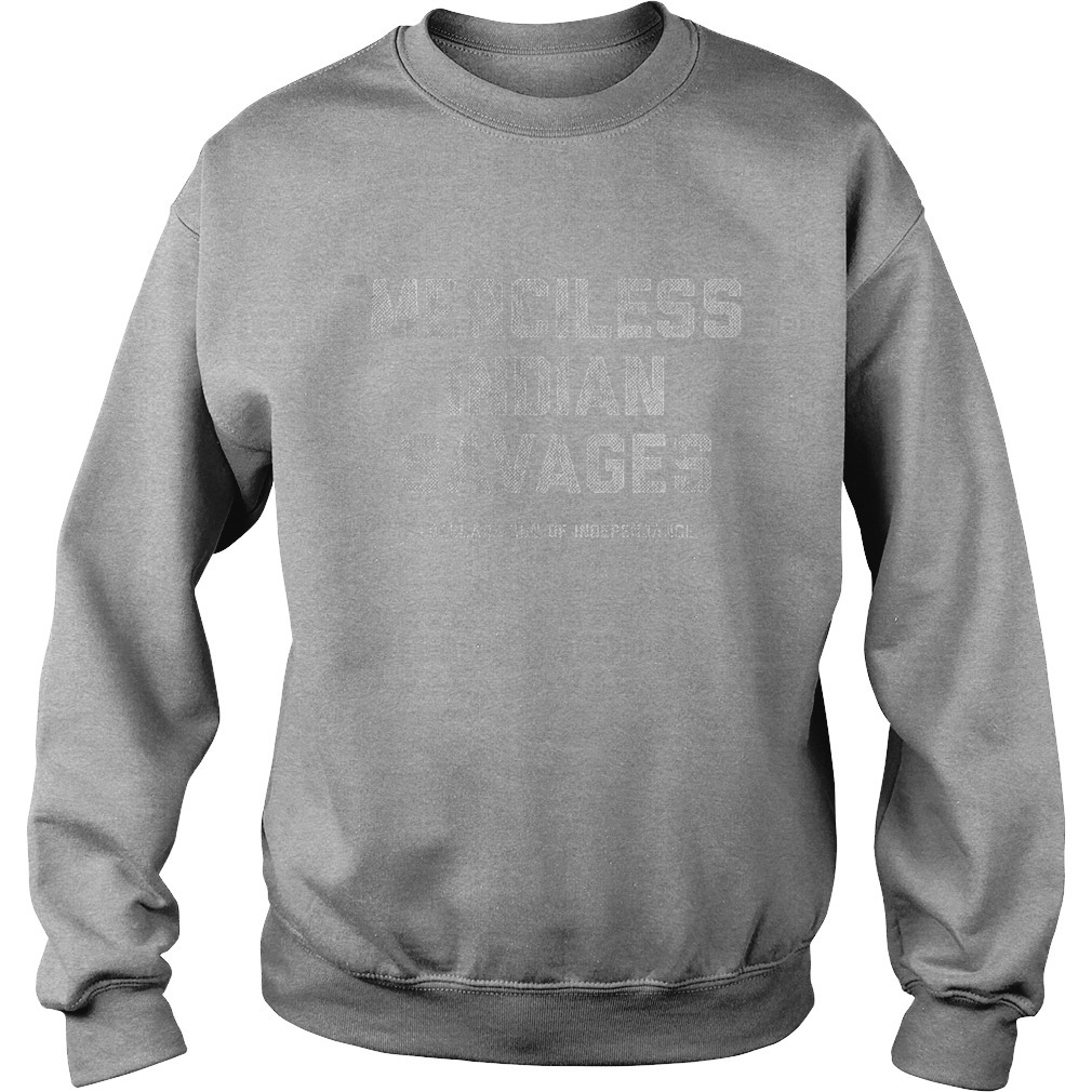 Washington Tribal Teen Merciless Indian Savage Sweater